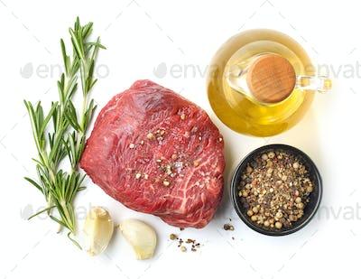 fresh raw beef fillet steak meat