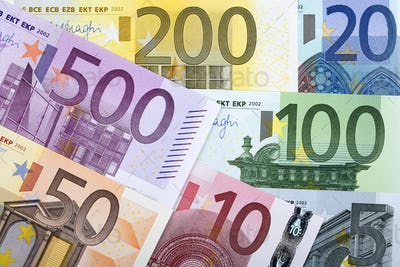 Full set of European money, a background