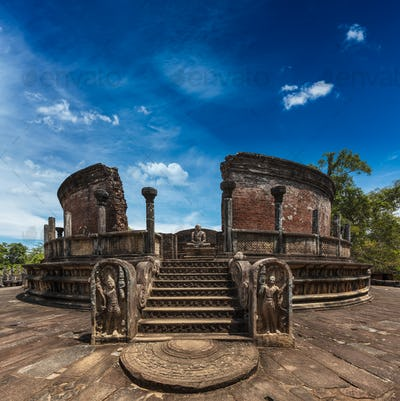 Ancient Vatadage (Buddhist stupa