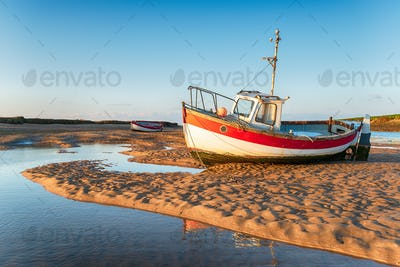 Fishing Boats at Burnham Overy Staithe