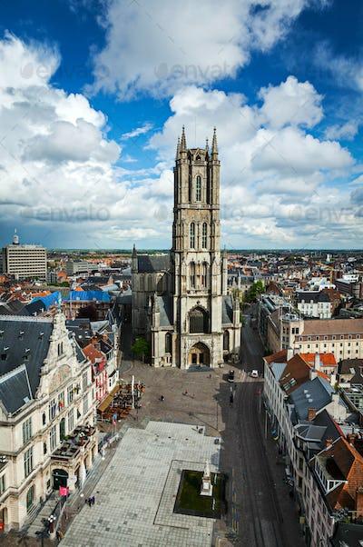 Saint Bavo Cathedral. Ghent, Belgium