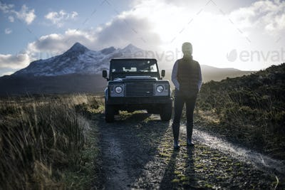 Traveler in the Highlands
