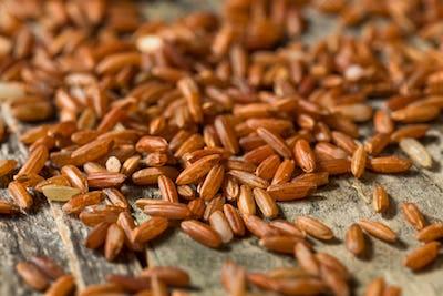 Dry Organic Red Rice