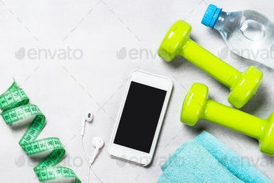 Fitness, training and active lifestyle concept