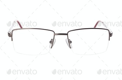 Glasses isolated on white with clipping path.