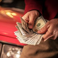 Men Counting Cash Money