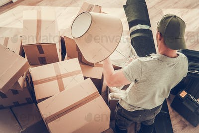 Divorced Men Moving Out
