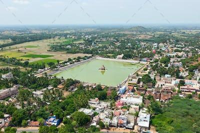 Temple Tank of Lord Bhakthavatsaleswarar Temple. Thirukalukundr