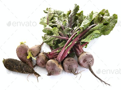 vegetables in studio