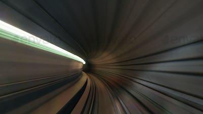 View on metropolitan tube