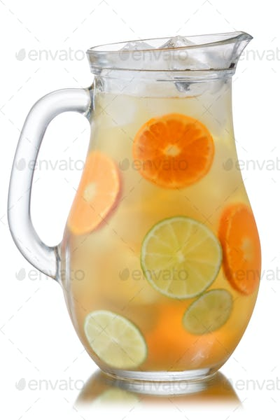 Iced mandarin lime lemonade, paths