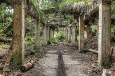 Former the tin mine Rolava - Sauersack