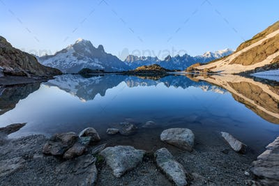 Lac Blanc, Graian Alps, France