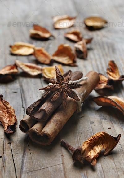 Cinnamon and anise seed