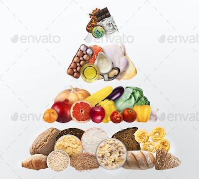 Individual nutritionist concept