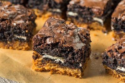 Homemade Chocolate Slutty Brownies