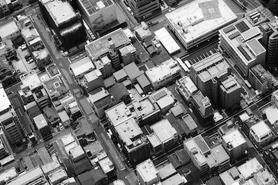 Tokyo Skyline Closeup