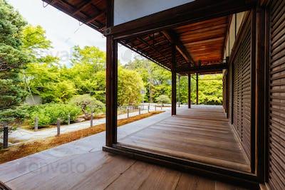 Tenju-an Temple Kyoto Japan