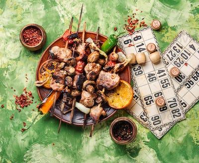 BBQ picnic and lotto