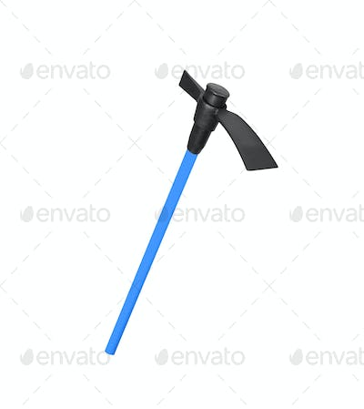 Axe isolated on white background