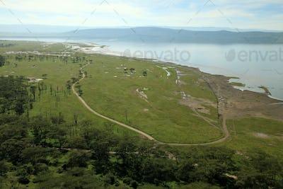 Lake Nukuru Nature Reserve - Kenya