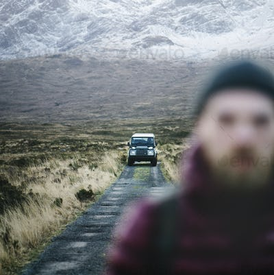 Left alone in the Highlands