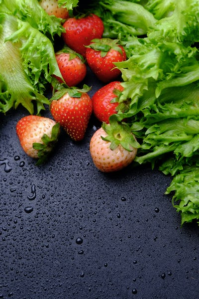 Strawberry and vegetable