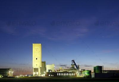 Salt Mine At Night, Germany
