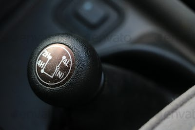 4X4 gear shift
