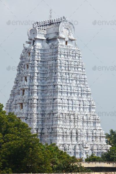 Gopura of Hindu temple