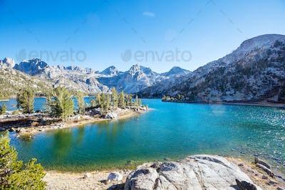 Lake in Sierra Nevada