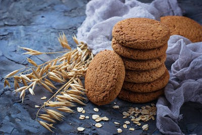 Oatmeal gluten-free cookies
