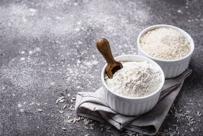 Healthy gluten free rice flour