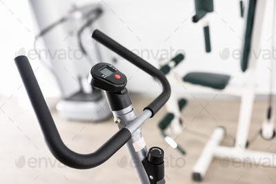 Equipment for rehabilitation in interior of physiotherapy clinic