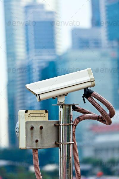 CCTV surveillance camera in Singapore