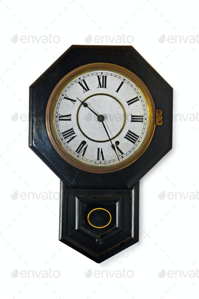 Wall clock isolkated