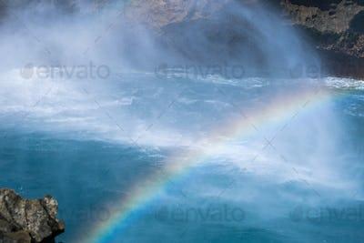 beautiful blue dream island landscape of devil's tears