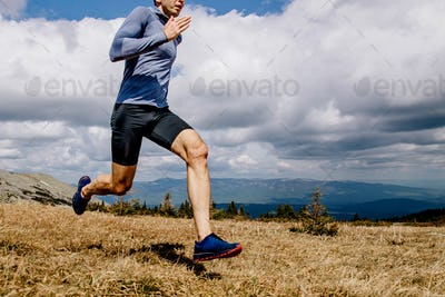 dynamic running man runner