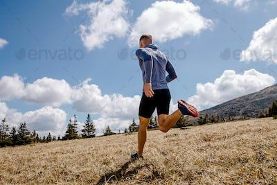 cross-country running