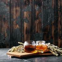 Green herbal Greek mountain tea