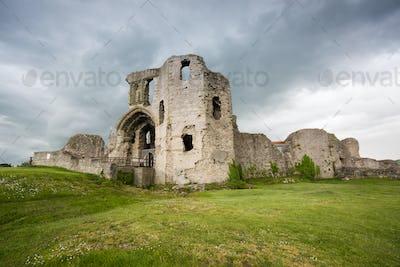 Denbigh Castle in North Wales UK
