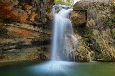 Waterfalls in Catalonia: gorgs de la Cabana, Campdevanol, Girona