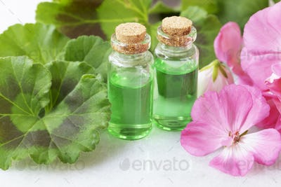 Plant Extract and Geraniums
