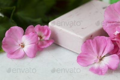 Geranium Flower Soap