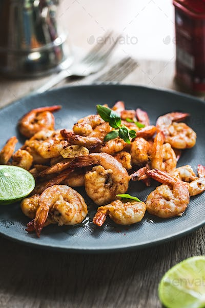 Prawns with Garlic and Pimenton