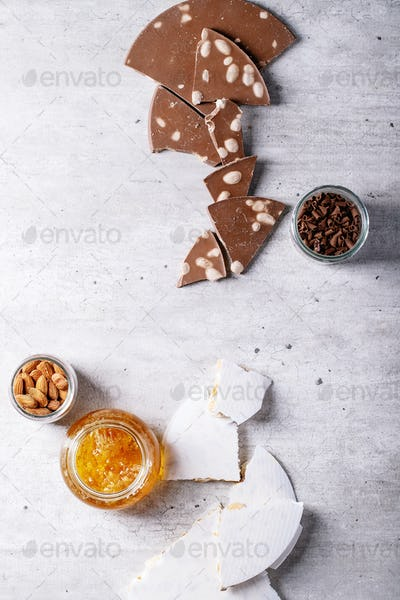 Traditional Spanish candy turron
