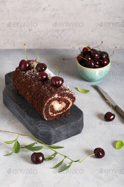 Chocolate Dessert Roll
