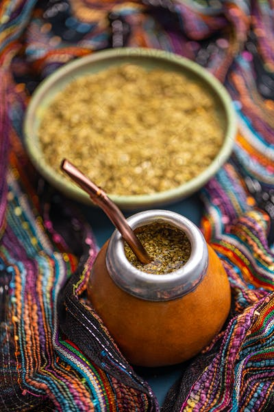 Mate yerba tea