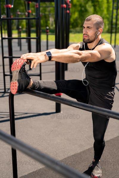 Stretching forwards