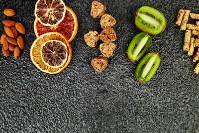 Healthy snacks -  variety oat granola bar